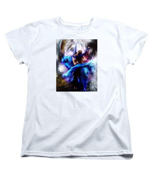 Ballerina Dance009-a Women's T-Shirt (Standard Cut) by Gull G