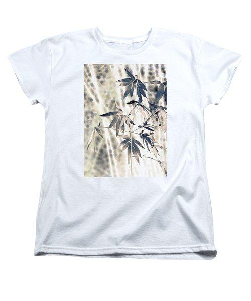 Bamboo Women's T-Shirt (Standard Cut) by Wayne Sherriff