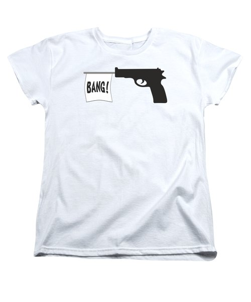 Bang Women's T-Shirt (Standard Cut) by Ericamaxine Price