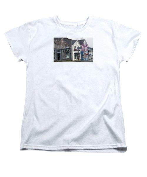 Women's T-Shirt (Standard Cut) featuring the photograph Bar Harbor by Helen Haw