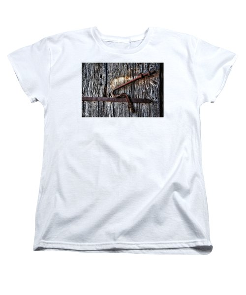 Barn Lock Women's T-Shirt (Standard Cut) by Patrick Boening