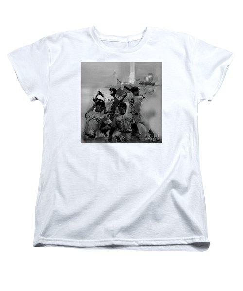 Base Ball Players Women's T-Shirt (Standard Cut) by Gull G