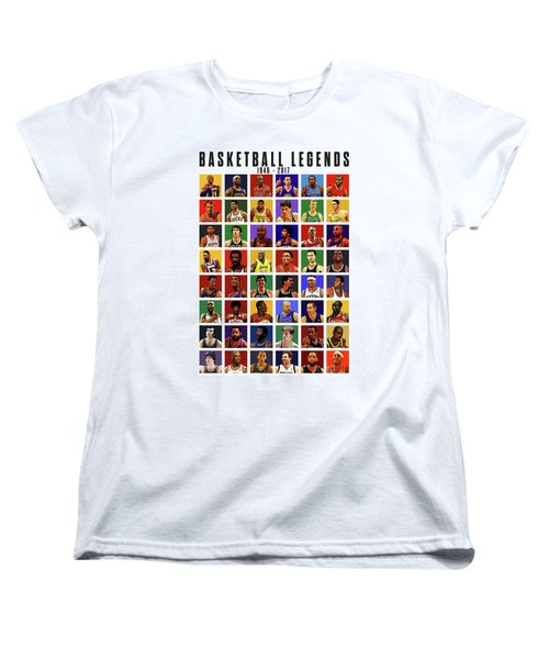 Basketball Legends Women's T-Shirt (Standard Cut)