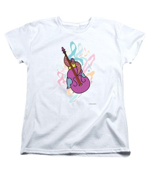 Bass Women's T-Shirt (Standard Cut) by Steve Ellis