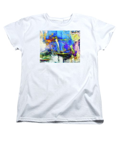 Women's T-Shirt (Standard Cut) featuring the painting Bayou Teche by Dominic Piperata
