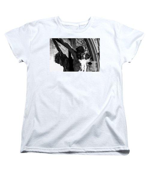 Be Still And Know That I Am God  Psalms 46 10 Women's T-Shirt (Standard Cut)