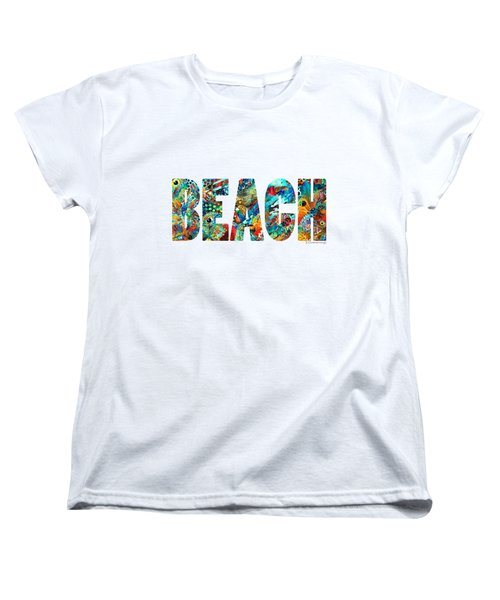 Beach Art - Beachy Keen - By Sharon Cummings Women's T-Shirt (Standard Cut)