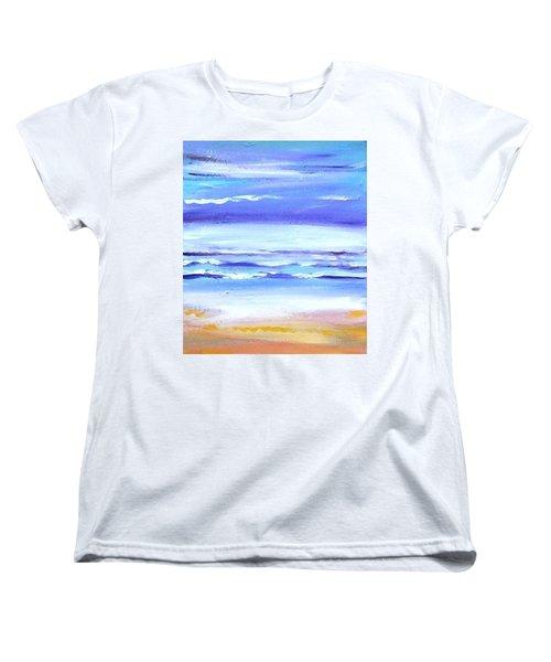 Beach Dawn Women's T-Shirt (Standard Cut) by Winsome Gunning