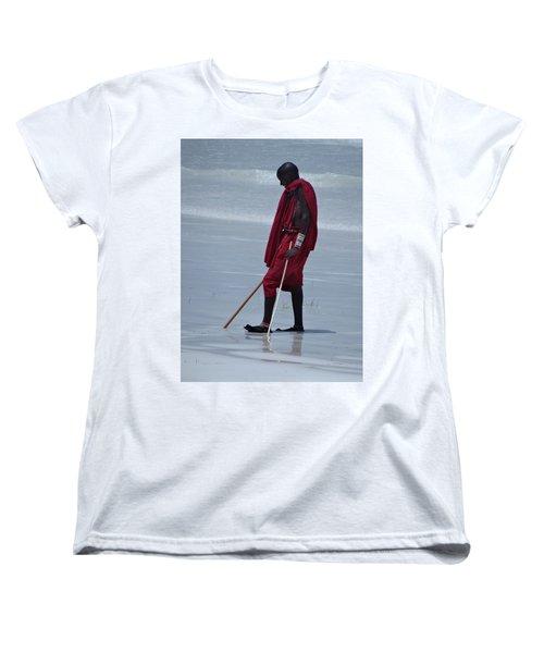 Beach Maasai Women's T-Shirt (Standard Fit)