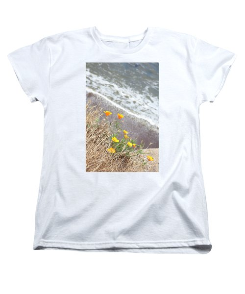 Beach Poppies Women's T-Shirt (Standard Cut)