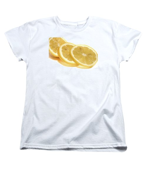 Beat The Heat With Refreshing Fruit Women's T-Shirt (Standard Cut) by Nick Mares