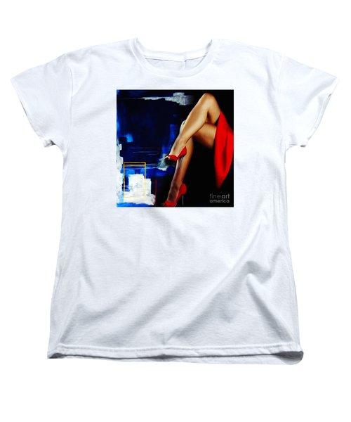 Beautiful Legs 02  Women's T-Shirt (Standard Cut) by Gull G