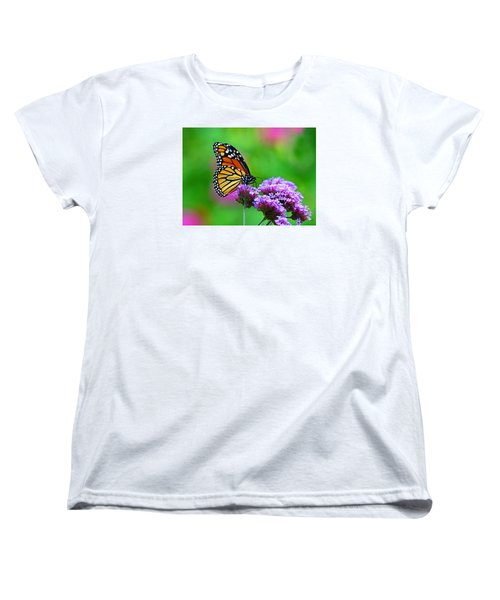 Women's T-Shirt (Standard Cut) featuring the photograph Beautiful Monarch by Rodney Campbell