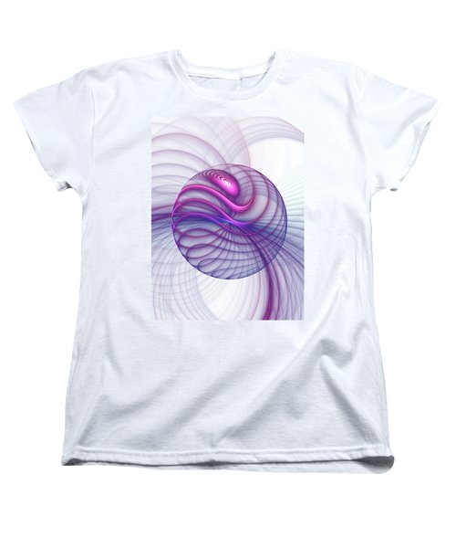 Beautiful Movements Fractal Art Women's T-Shirt (Standard Cut) by Gabiw Art
