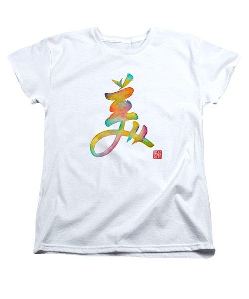 Beautiful Women's T-Shirt (Standard Cut) by Oiyee At Oystudio