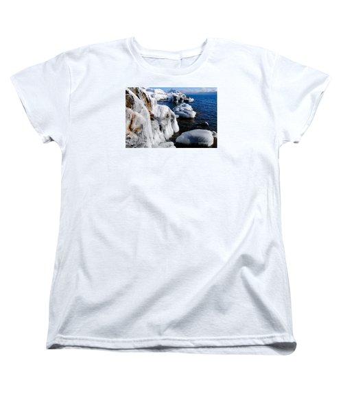 Beautiful Superior Ice Women's T-Shirt (Standard Cut) by Sandra Updyke