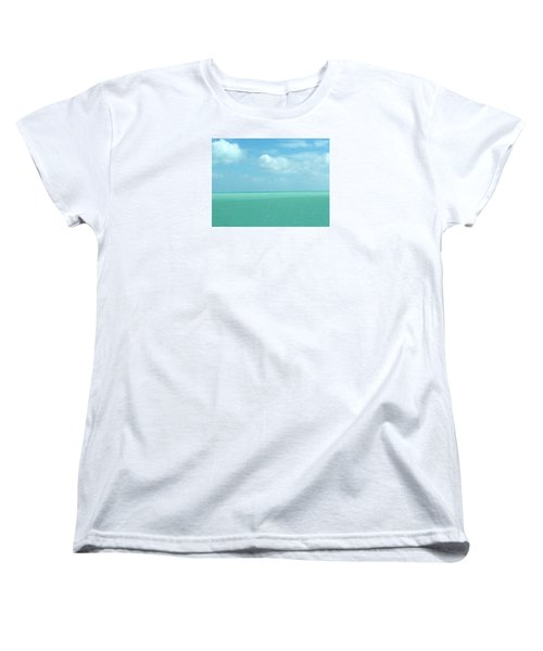 Beautiful Waters Women's T-Shirt (Standard Cut) by Robin Regan