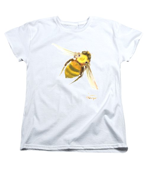 Bee Women's T-Shirt (Standard Cut) by Suren Nersisyan