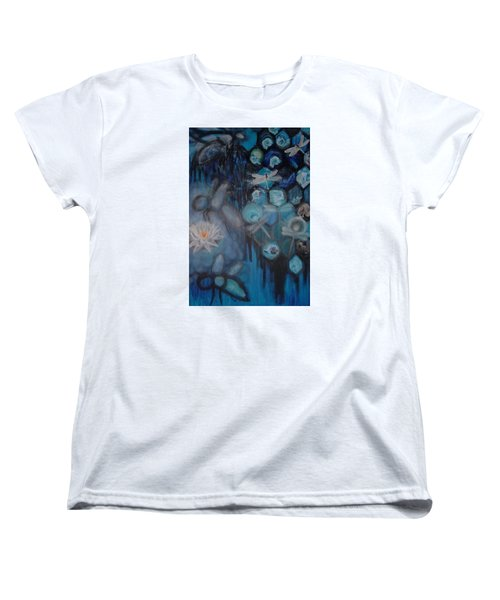 Beehive Blues Women's T-Shirt (Standard Cut) by Diana Riukas