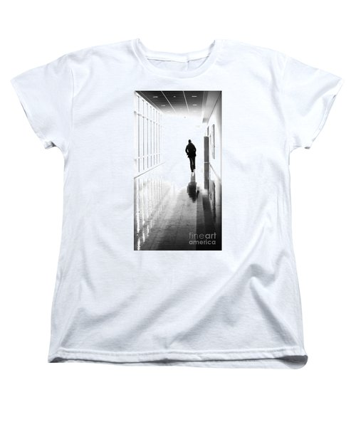 Being Alone Doesnt Mean Youre Free Women's T-Shirt (Standard Cut) by Dana DiPasquale