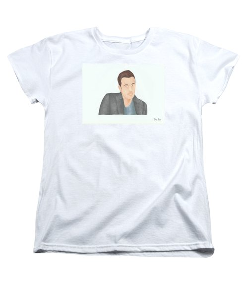 Ben Affleck Women's T-Shirt (Standard Cut) by Toni Jaso