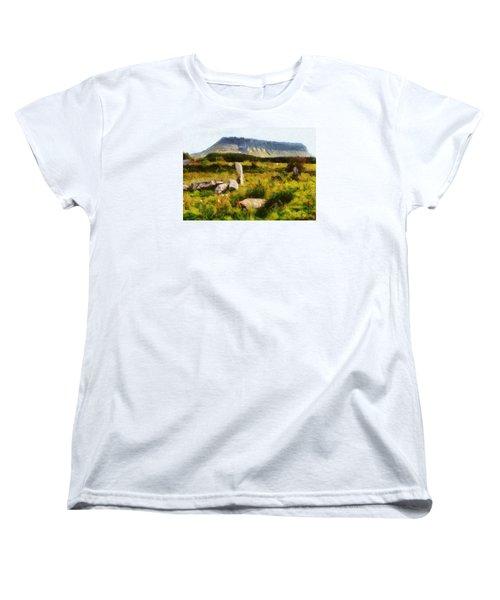 Benbulben Sligo Women's T-Shirt (Standard Cut) by Charmaine Zoe