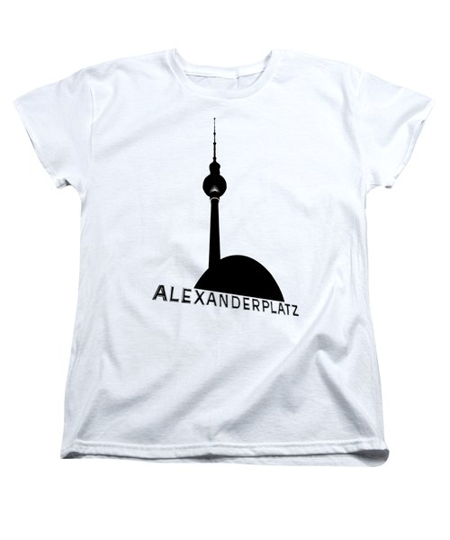 Berlin Alexanderplatz Women's T-Shirt (Standard Cut) by Julie Woodhouse