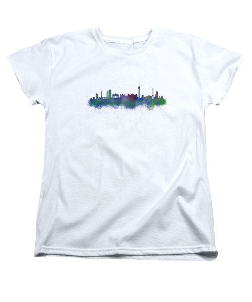 Berlin City Skyline Hq 2 Women's T-Shirt (Standard Cut) by HQ Photo
