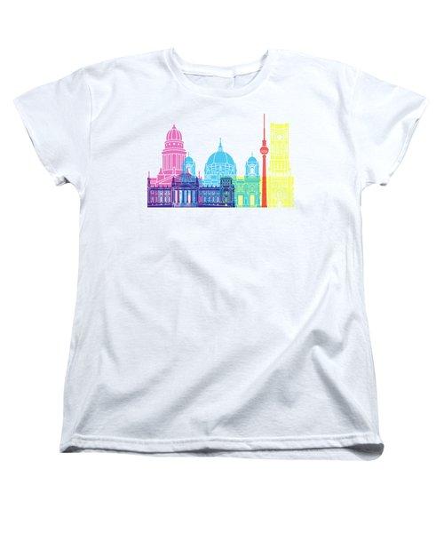 Berlin V2 Skyline Pop Women's T-Shirt (Standard Cut)