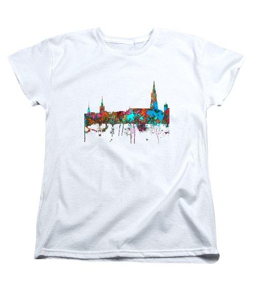 Berne Switzerland Skyline Women's T-Shirt (Standard Cut)