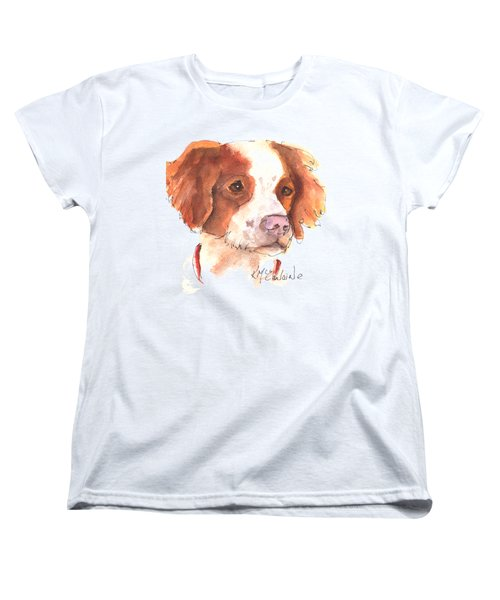 Best Dog By Kathleen Mcelwaine Women's T-Shirt (Standard Cut) by Kathleen McElwaine