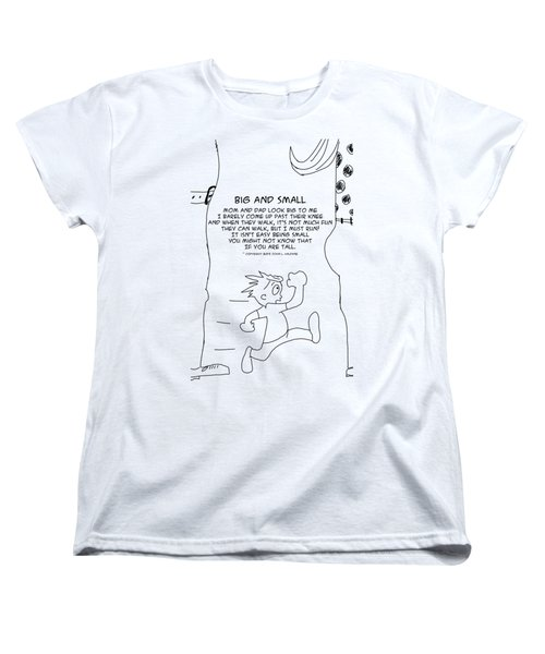 Big And Small Women's T-Shirt (Standard Cut)