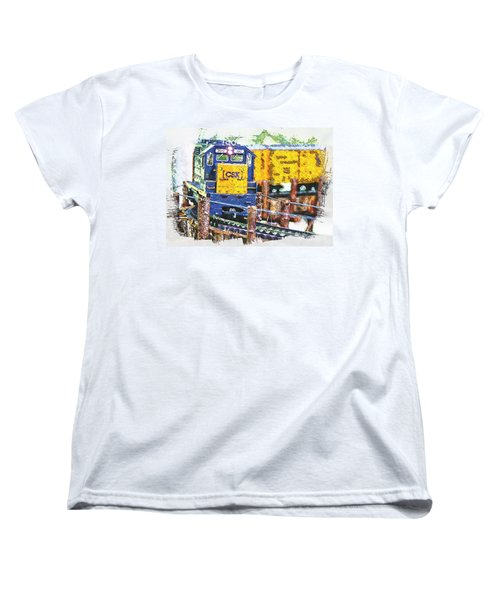 Women's T-Shirt (Standard Cut) featuring the photograph Big Bend by Robert Pearson