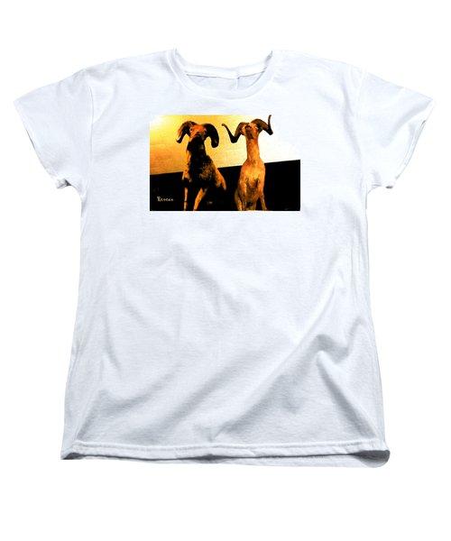 Big Game Canada - Fannin Sheep Women's T-Shirt (Standard Cut) by Sadie Reneau