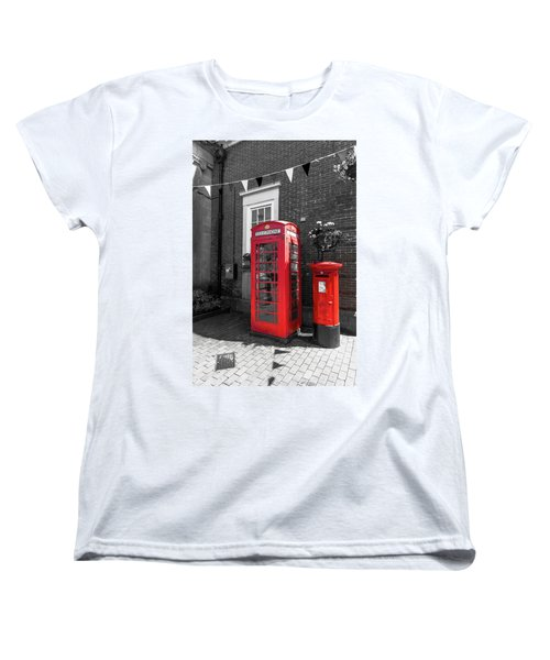 Women's T-Shirt (Standard Cut) featuring the photograph Big Red Little Red by Scott Carruthers