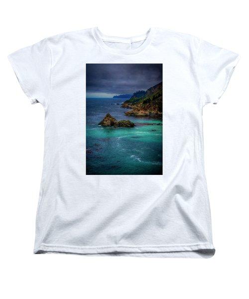 Big Sur Coastline Women's T-Shirt (Standard Cut) by Joseph Hollingsworth