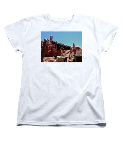 Big Thunder Mountain Walt Disney World Mp Women's T-Shirt (Standard Cut) by Thomas Woolworth