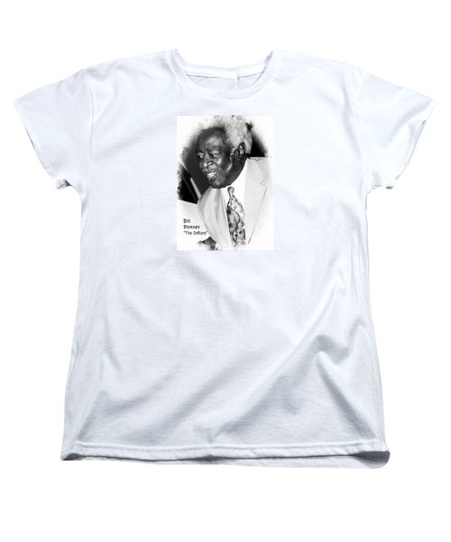 Bill Pinkney Of The Drifters Women's T-Shirt (Standard Cut) by Bob Pardue