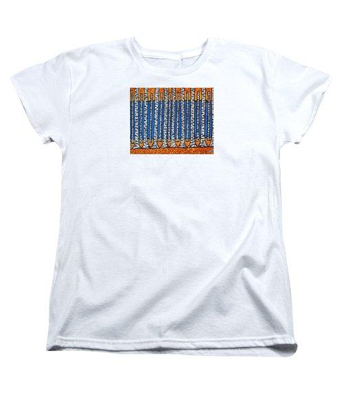 Birch Forest Women's T-Shirt (Standard Cut) by Jean Haynes