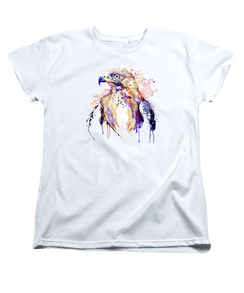Bird Of Prey  Women's T-Shirt (Standard Cut) by Marian Voicu