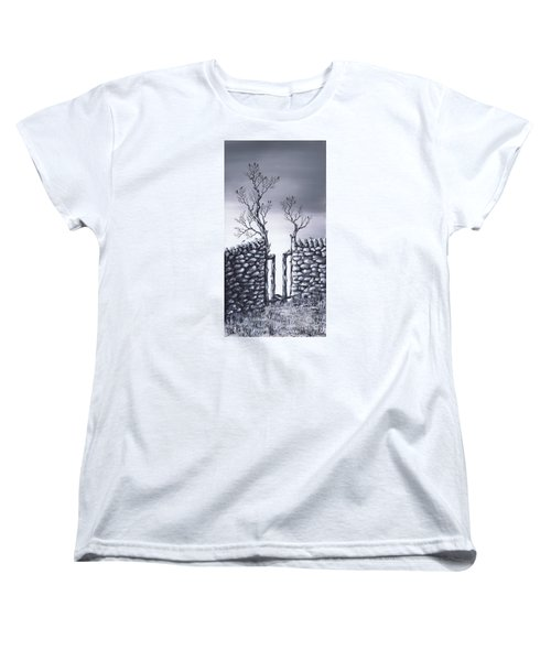 Bird Tree Women's T-Shirt (Standard Cut) by Kenneth Clarke