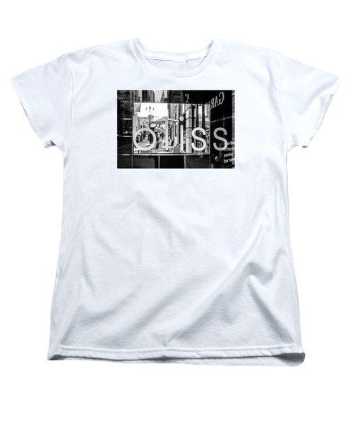 Women's T-Shirt (Standard Cut) featuring the photograph Bliss by David Sutton