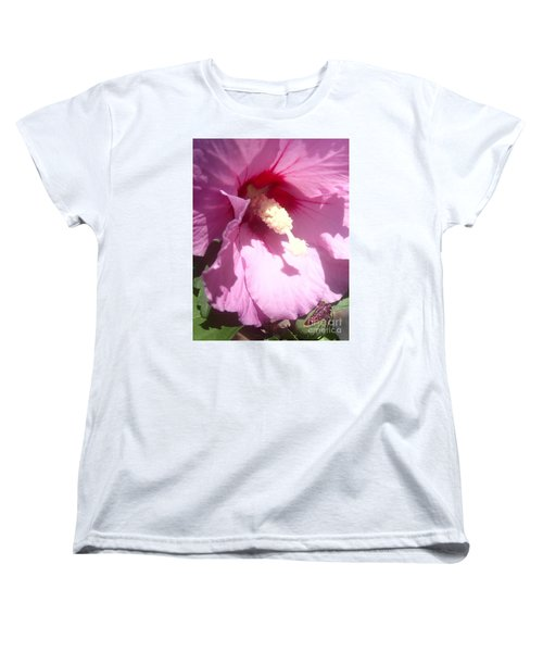 Women's T-Shirt (Standard Cut) featuring the photograph Blossom At Kirby Park by Christina Verdgeline