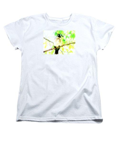 Blue Jay IIi Women's T-Shirt (Standard Cut) by Clarice  Lakota