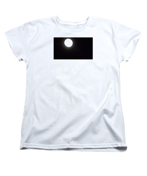 Women's T-Shirt (Standard Cut) featuring the photograph Blue Moon In July by Don Koester