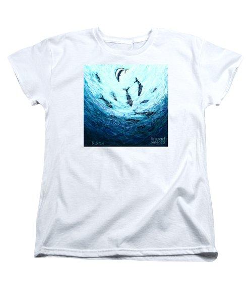 Bluefin Tuna Women's T-Shirt (Standard Cut)