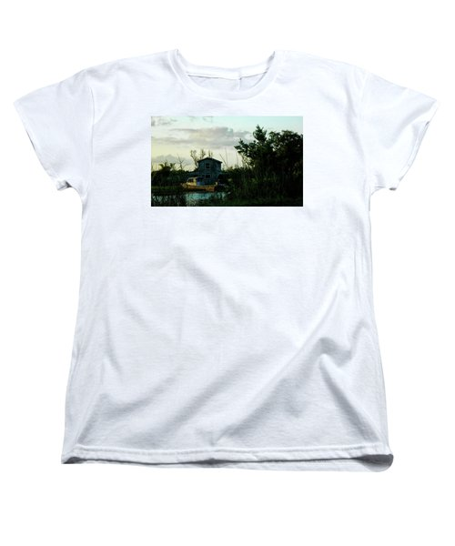 Boat House Women's T-Shirt (Standard Cut) by Cynthia Powell