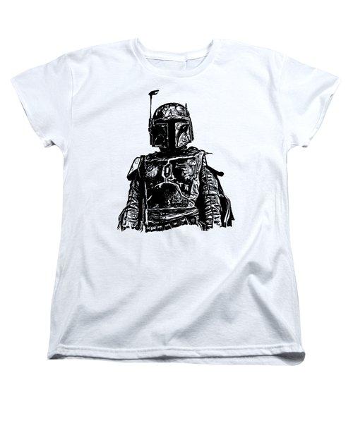 Boba Fett From The Star Wars Universe Women's T-Shirt (Standard Cut)