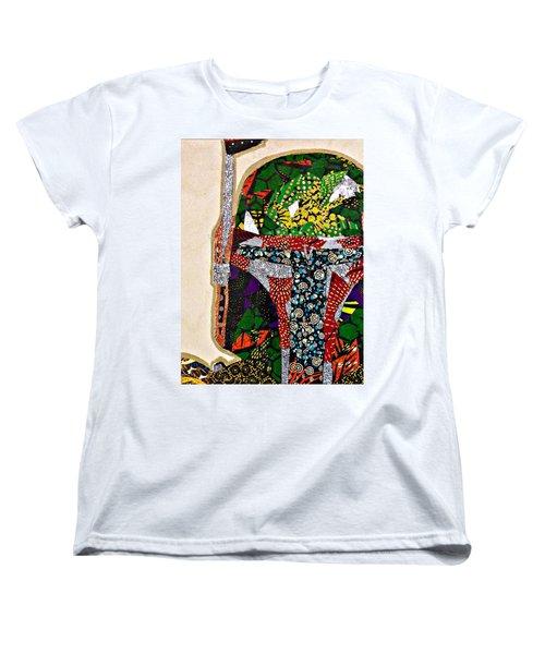 Boba Fett Star Wars Afrofuturist Collection Women's T-Shirt (Standard Cut)