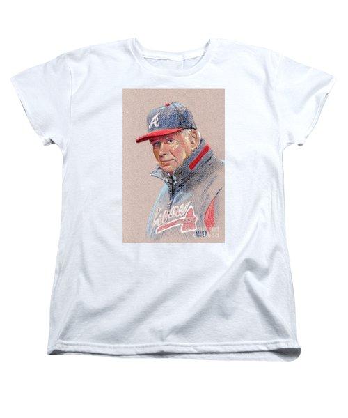 Bobby Cox Women's T-Shirt (Standard Cut) by Donald Maier